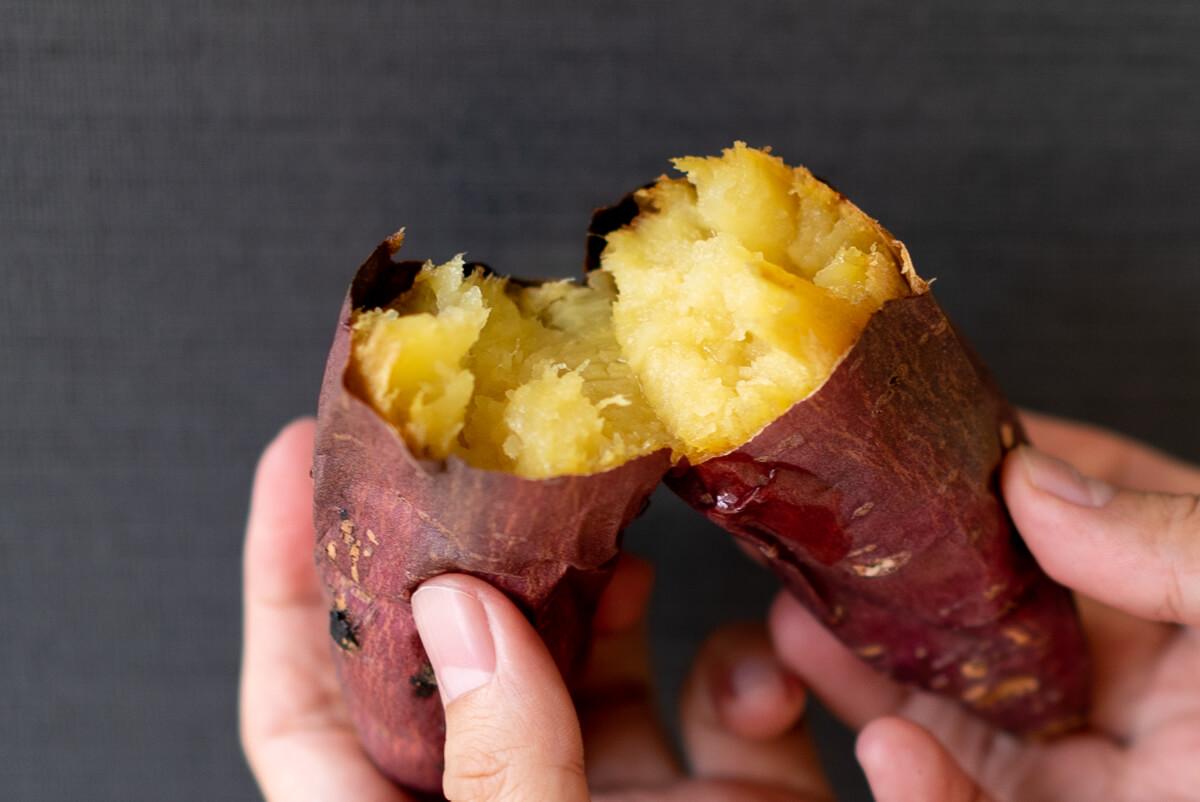 オーブントースターでの美味しい焼き芋の作り方 甘くてやわらかい焼き芋を作るための温度・加熱方法