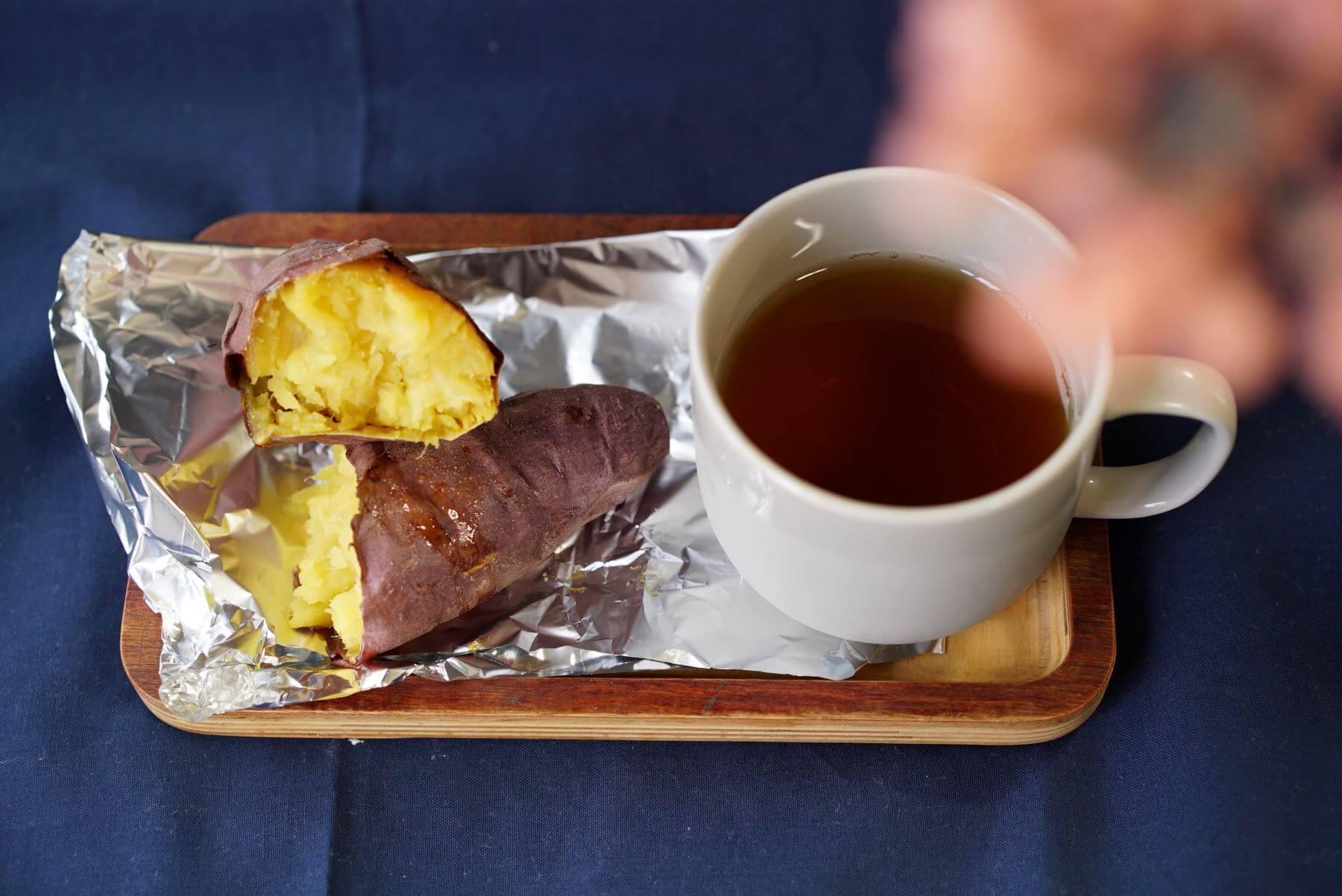 実食!完成した焼き芋を食べ比べ