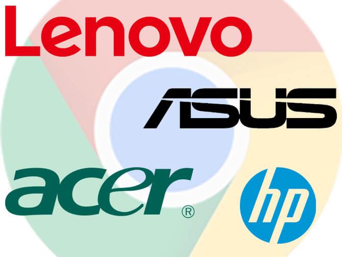 Chromebookの4ブランド
