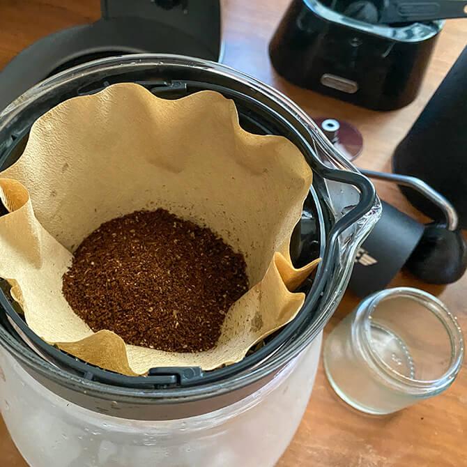 デロンギ クレシドラでアイスコーヒーを淹れてみた