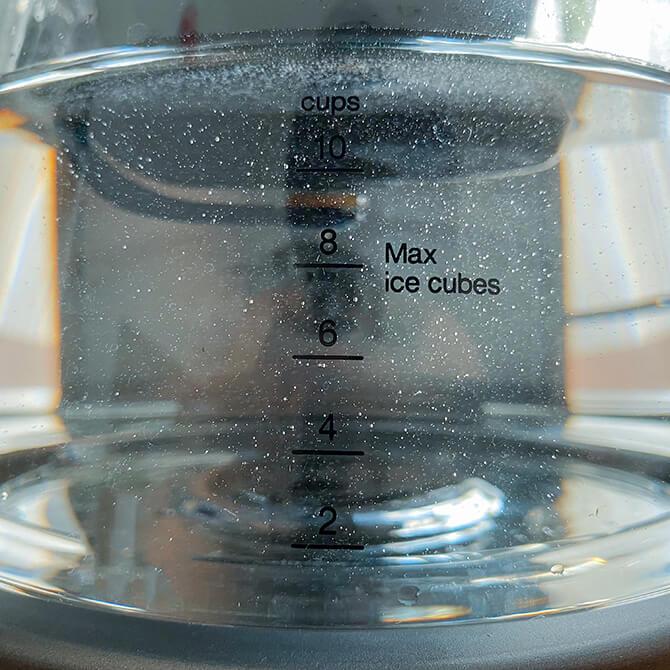 デロンギ クレシドラの目盛り付きガラスサーバー