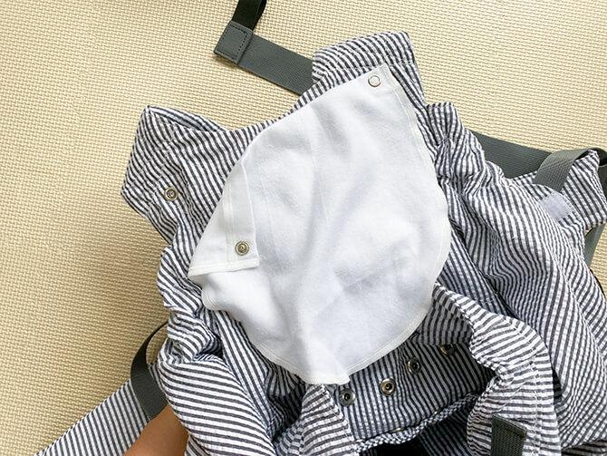 Weegoオリジナル抱っこひもの専用スタイ(よだれかけ))