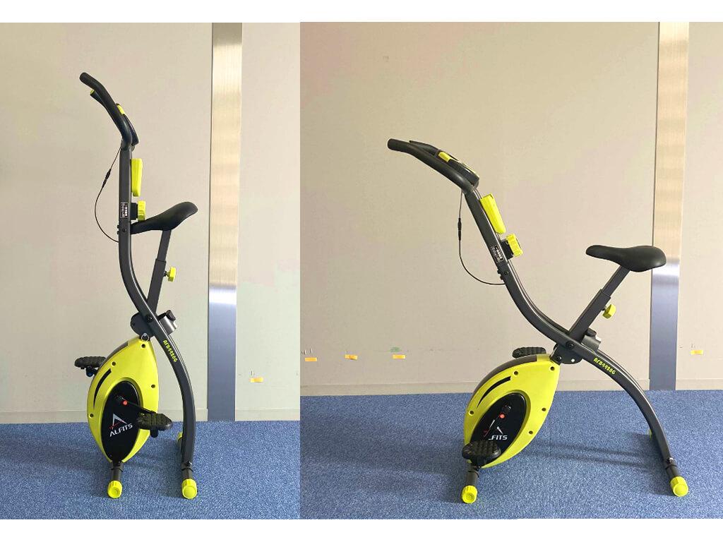 アルインコの家庭用エアロバイク AFB4428レビュー! 折りたたみできるコンパクトさに魅力、組み立て方法の紹介も
