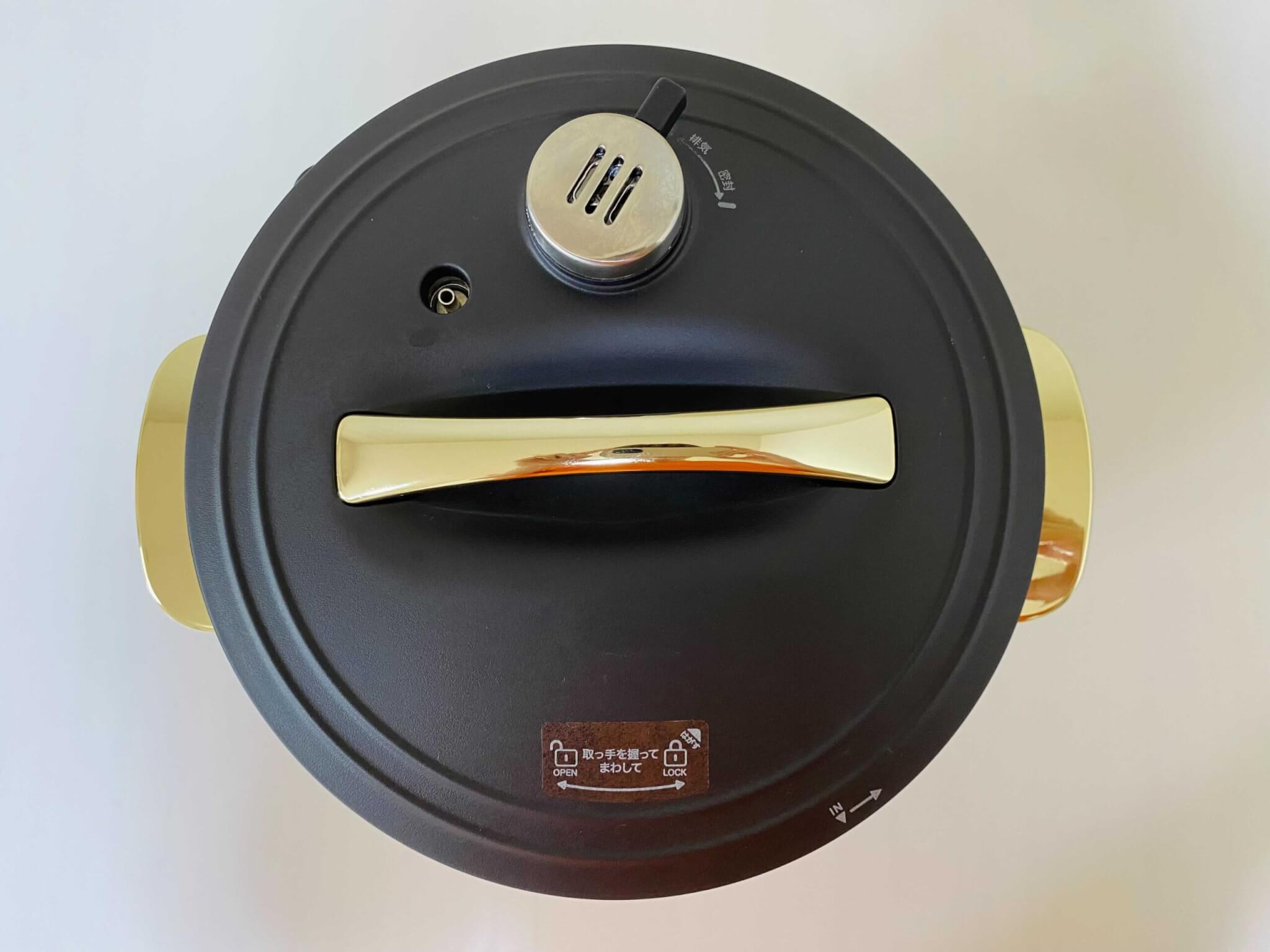 Re・De Pot リデポット 電気圧力鍋 2L BLACK PCH-20LB
