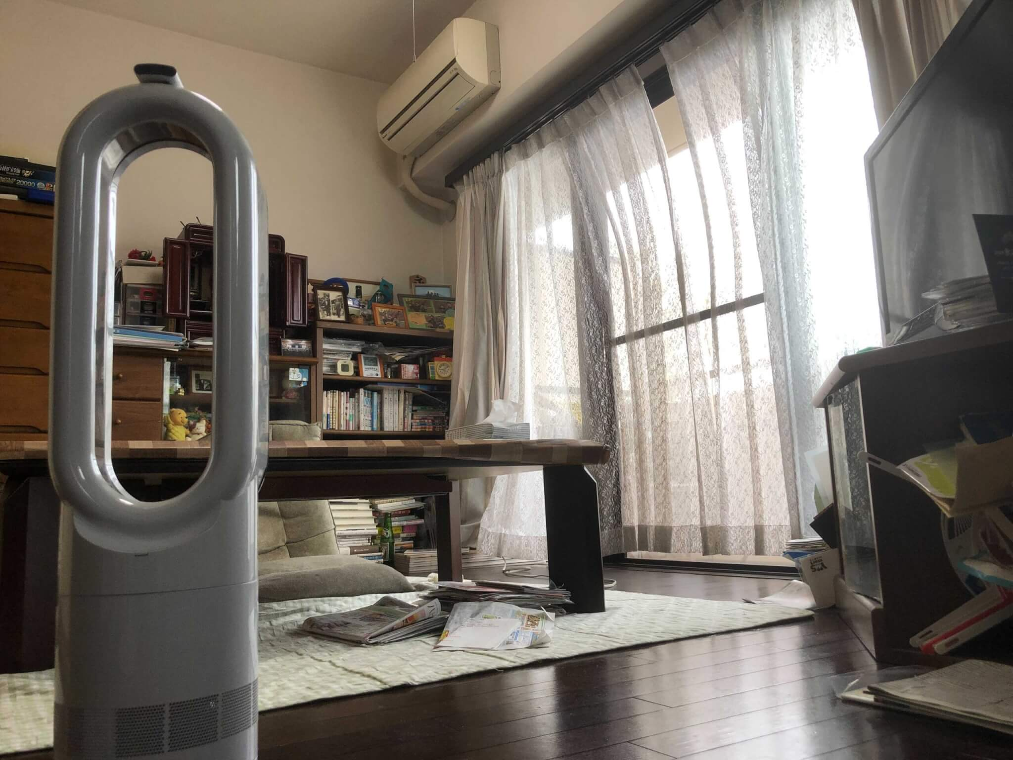 Dyson Hot+Cool AM09実機レビュー