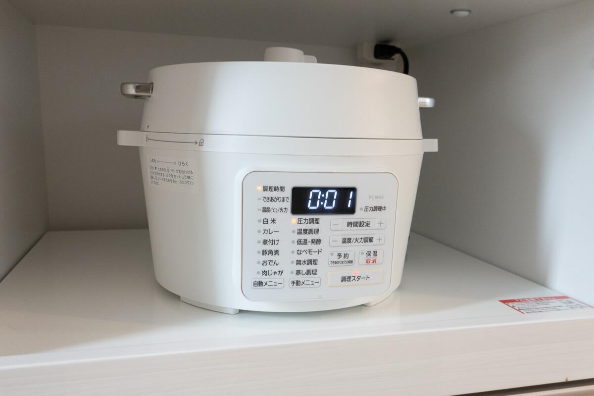 アイリスオーヤマ電気圧力鍋の気をつけたいデメリット