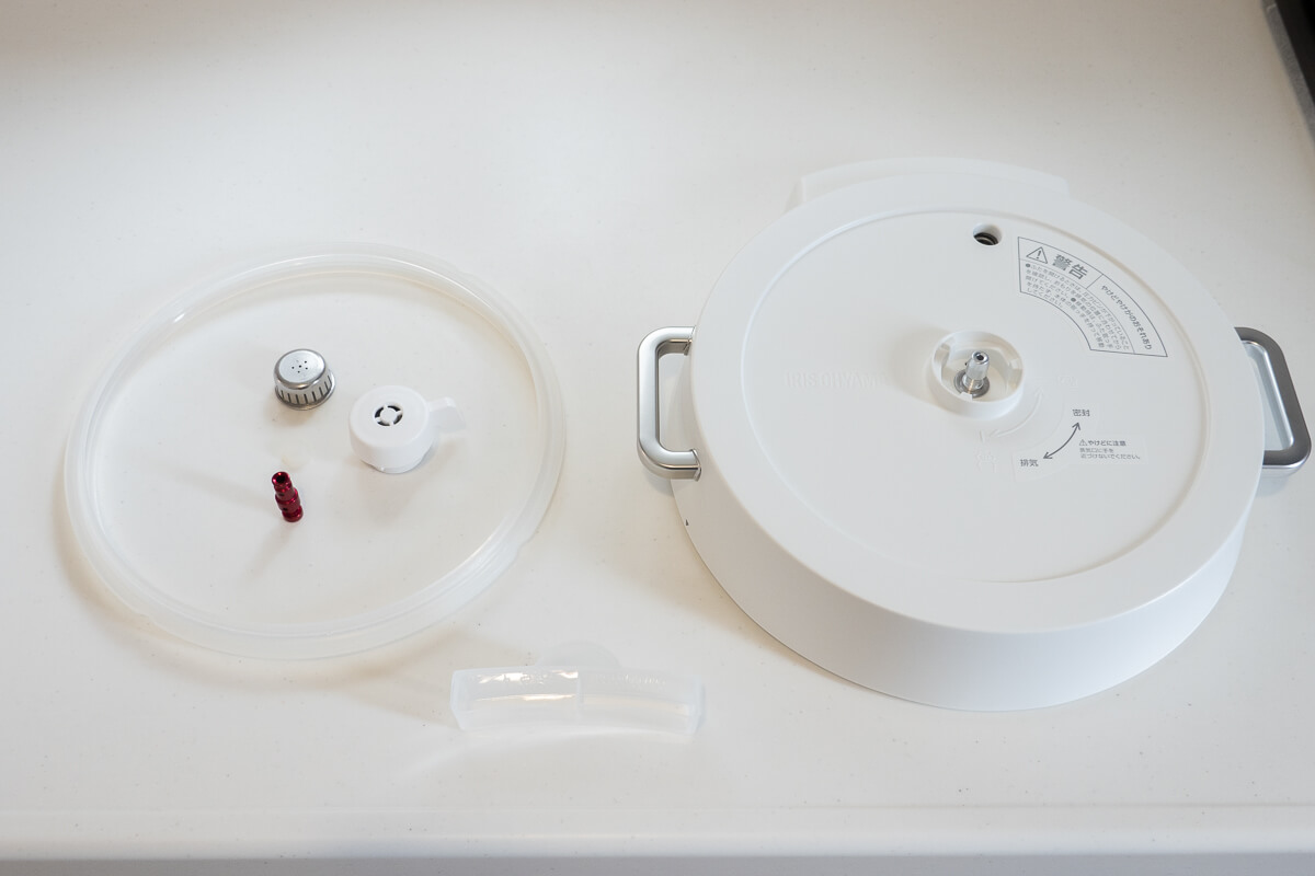 アイリスオーヤマ電気圧力鍋の気をつけたいデメリット やっぱりふたのお手入れが手間