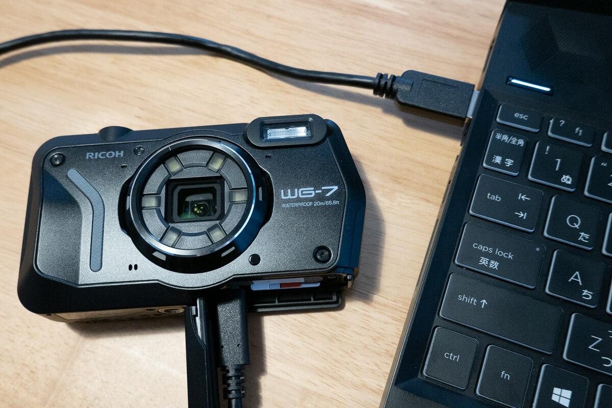 リコーの防水カメラ「RICOH WG-7」3. 多彩な機能や撮影モードで用途が広がる WEBカメラ機能でビジネス用途にも