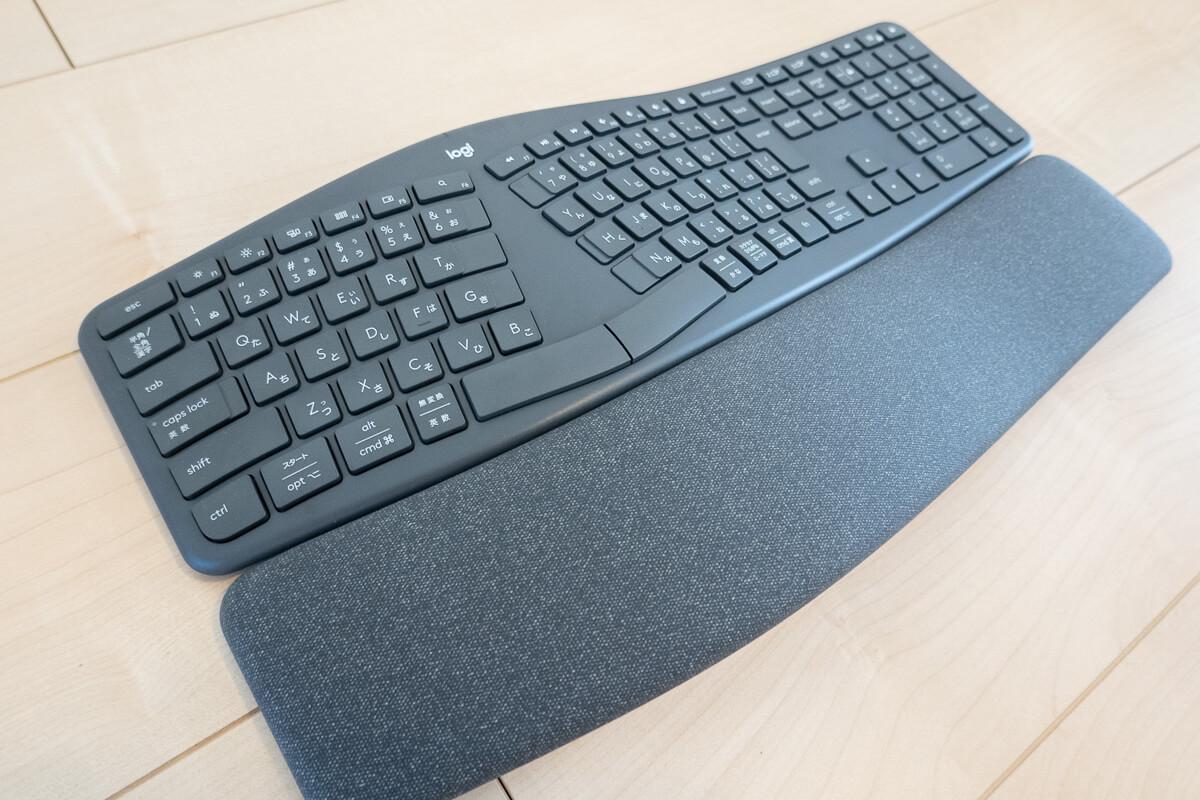 ロジクール「ERGO K860 エルゴノミック スプリットキーボード」の特長