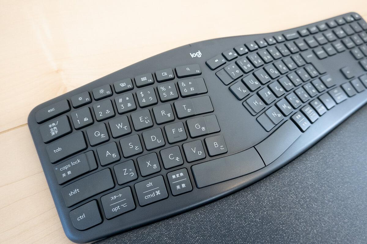 長時間のPC作業が快適になるロジクール「ERGO K860」