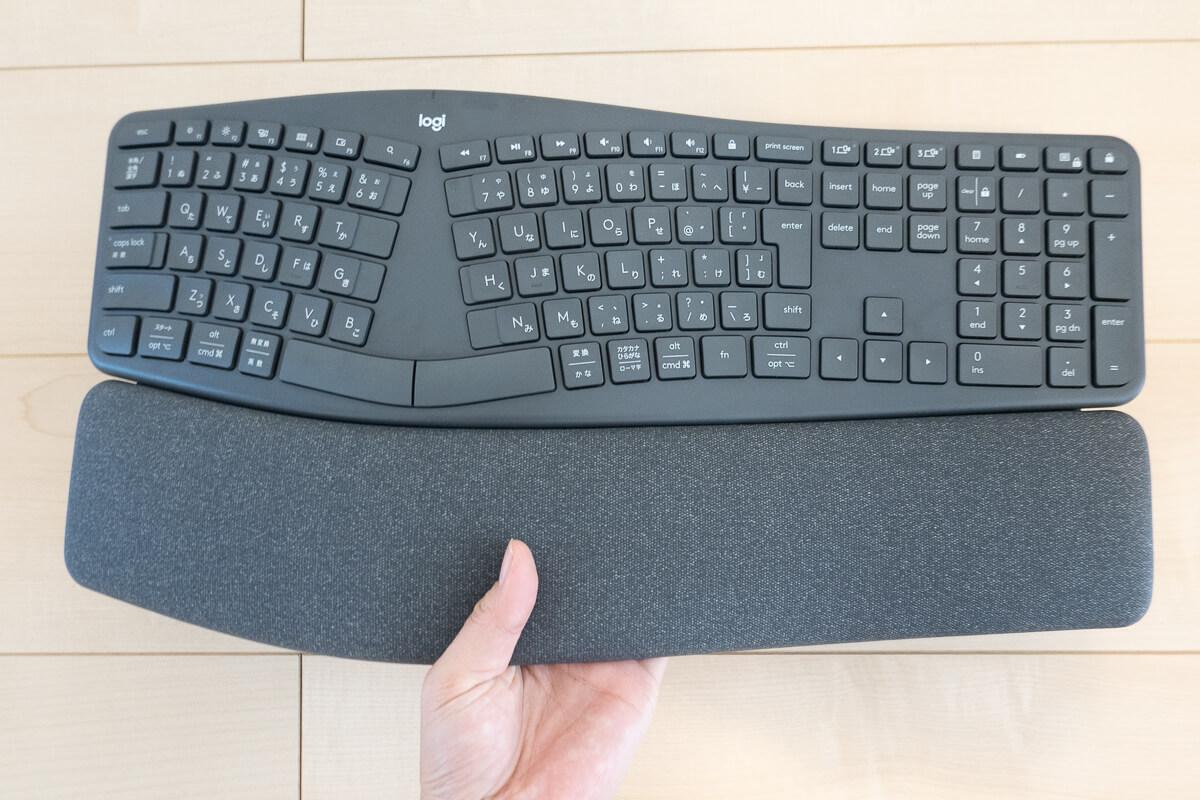 ロジクール「ERGO K860」を実際に使ってみた 購入前に知っておきたい注意点