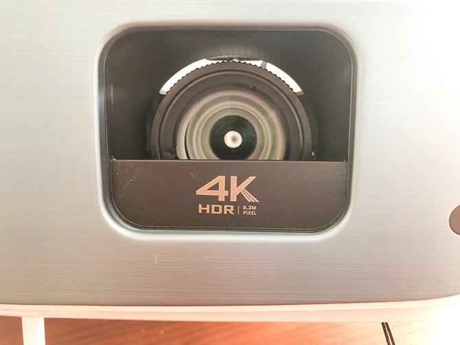BenQ TK850iの4K HDR映像
