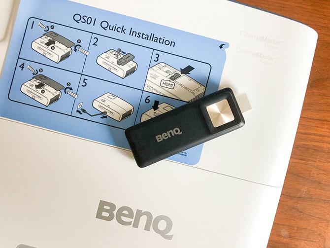 BenQ TK850iはAndroid TV搭載