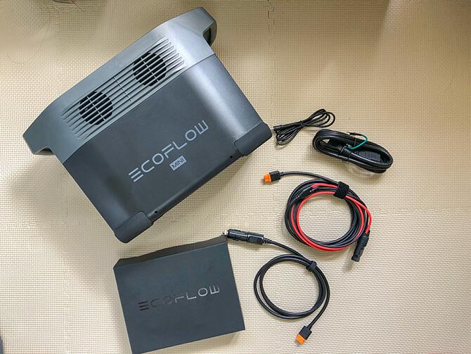 EcoFlow DELTA mini(エコフロー デルタミニ)のセット内容