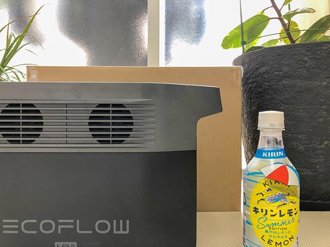 EcoFlow DELTA mini(エコフロー デルタミニ)のサイズ感