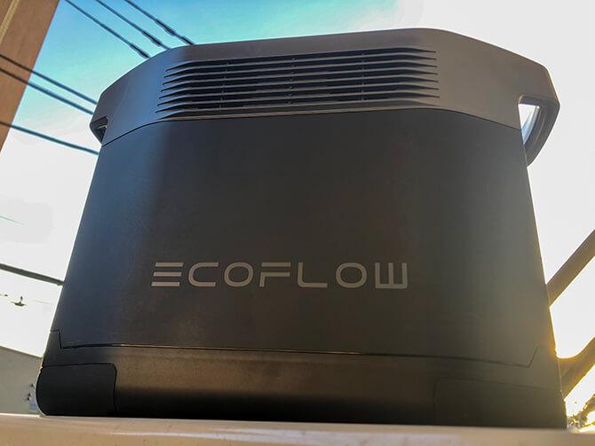 EcoFlow EFDELTAのメリット