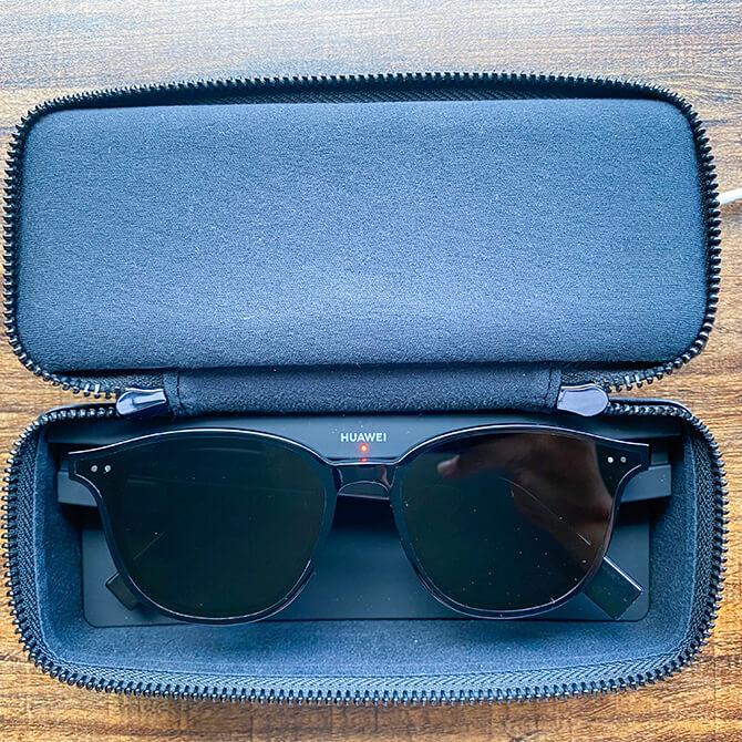 HUAWEI X GENTLE MONSTER Eyewear IIの充電