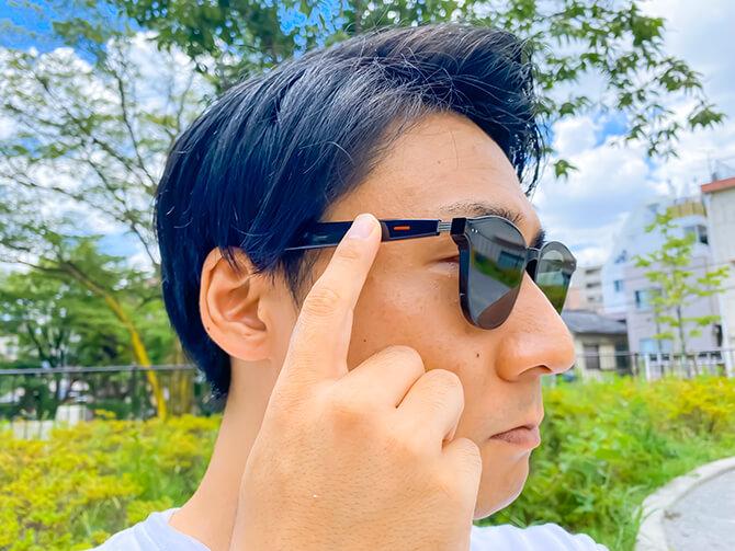 HUAWEI X GENTLE MONSTER Eyewear IIの操作性