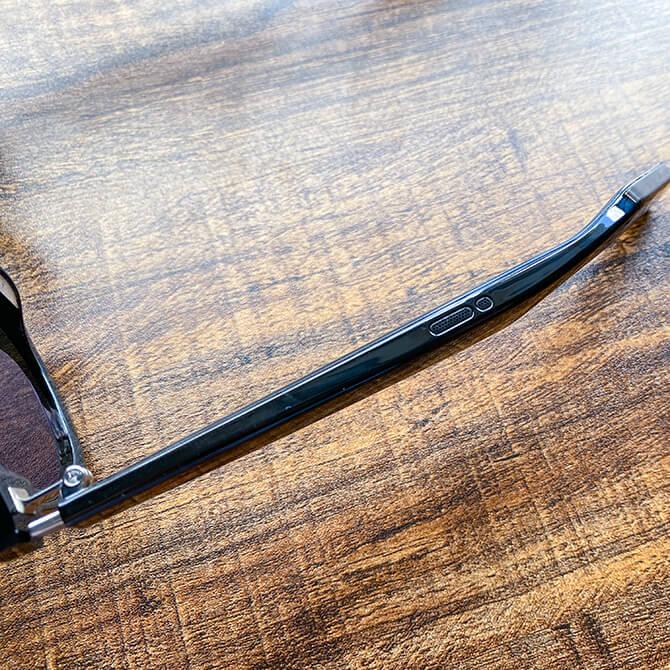 HUAWEI X GENTLE MONSTER Eyewear IIはに搭載されたスピーカーやマイク