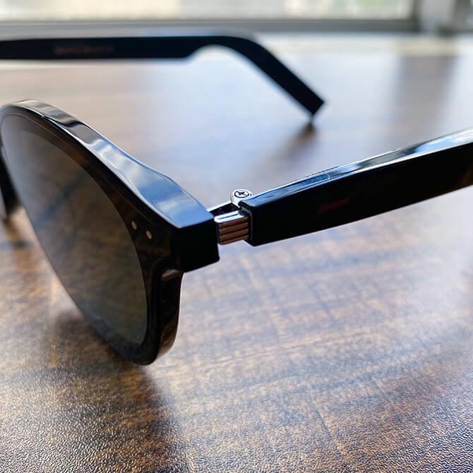 HUAWEI X GENTLE MONSTER Eyewear IIのチタン合金弾性ヒンジ