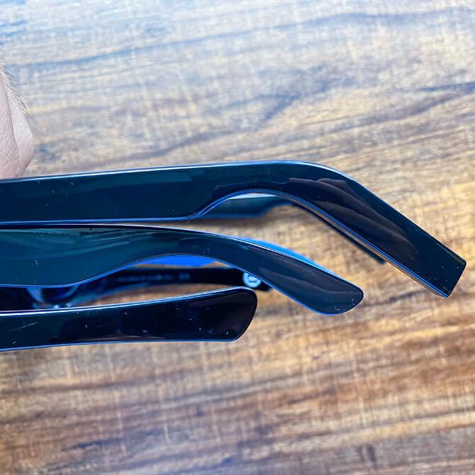 HUAWEI X GENTLE MONSTER Eyewear IIの人間工学に基づいた弧状フレーム
