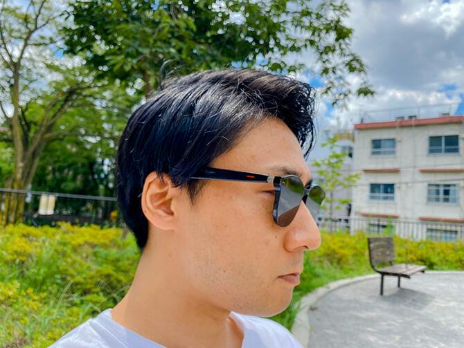 HUAWEI X GENTLE MONSTER Eyewear IIの装着感