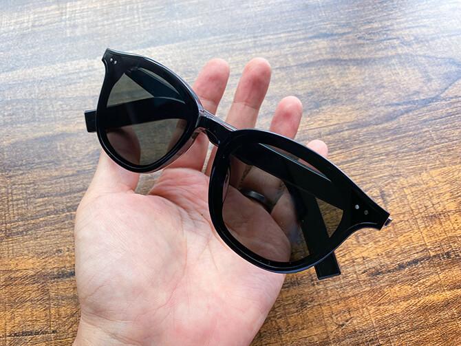 HUAWEI X GENTLE MONSTER Eyewear IIは軽い