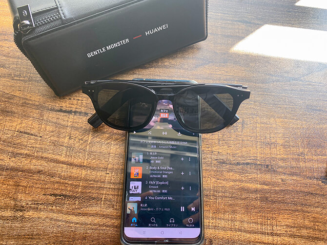 HUAWEI X GENTLE MONSTER Eyewear IIの音質