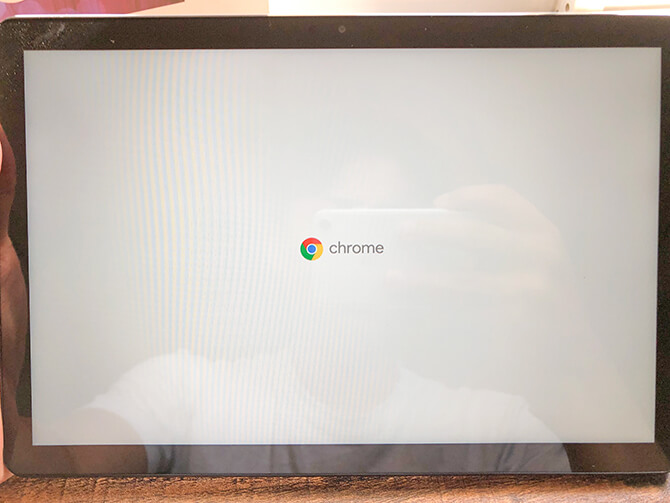 Lenovo IdeaPad Duet Chromebookの動作感