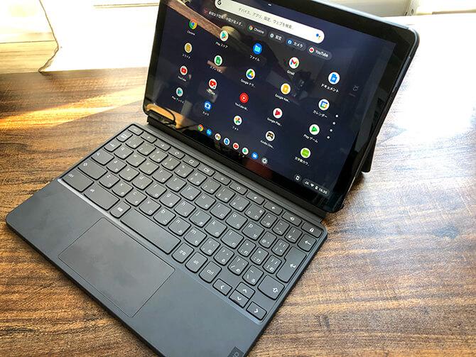Lenovo IdeaPad Duet Chromebookの実機レビュー
