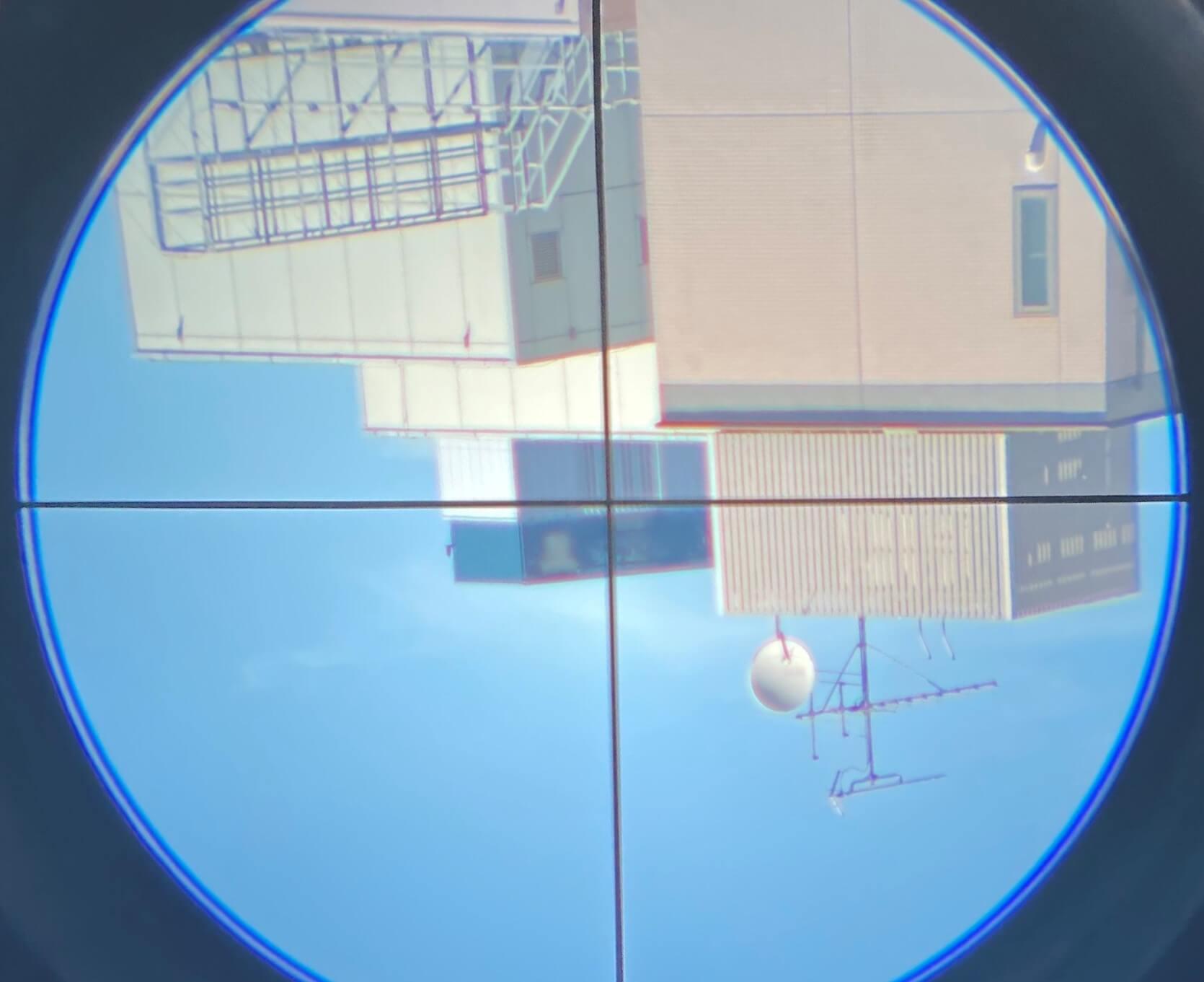 実際に「Travel Scope 80 with BP & SPH」で観測をしてみた ファインダーで目標物を捉える