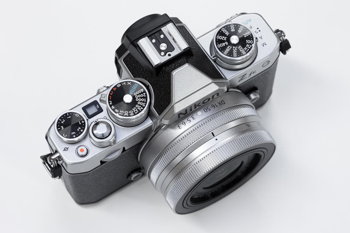 Nikon Z fc 操作性