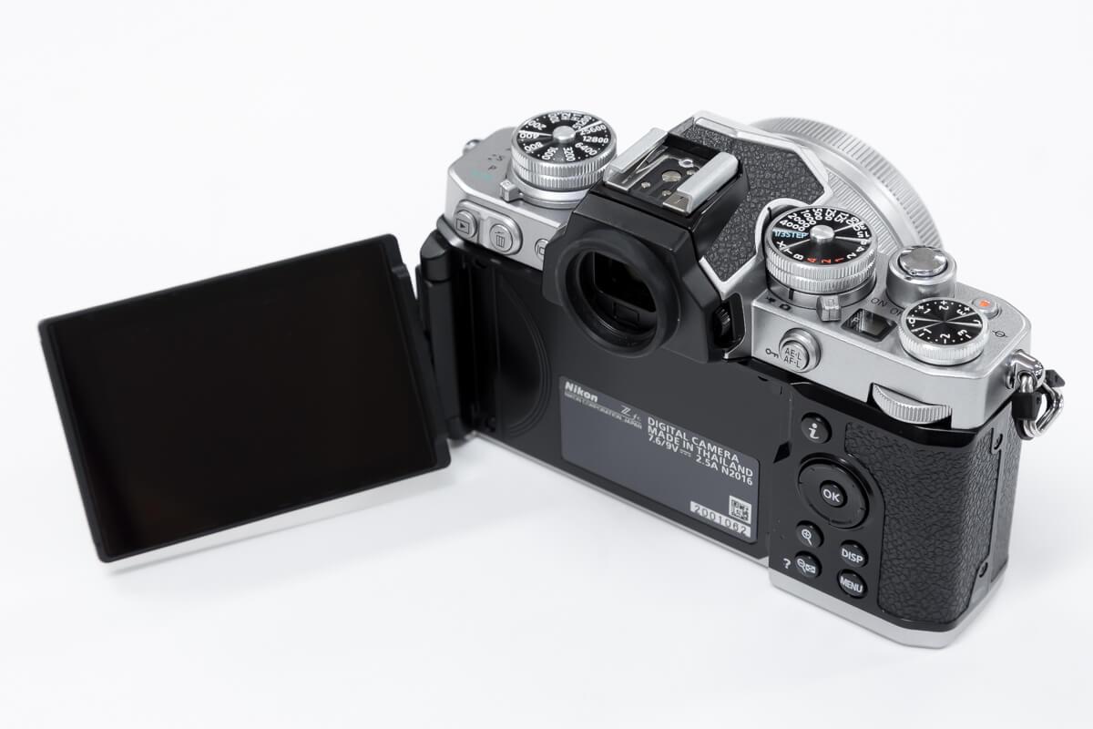 Nikon Z fc 液晶モニター