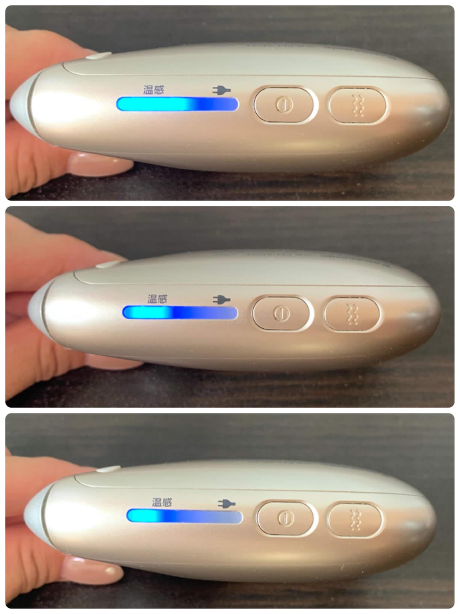 パナソニックのドレナージュ美顔器 温感かっさの使い方を解説