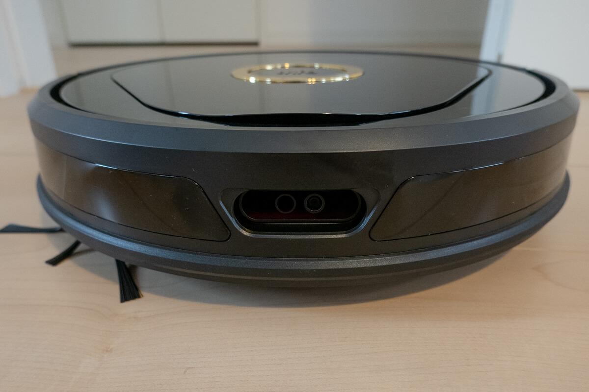 Trifoのロボット掃除機「Lucy(ルーシー)」の特長 2つのカメラでの見守り機能