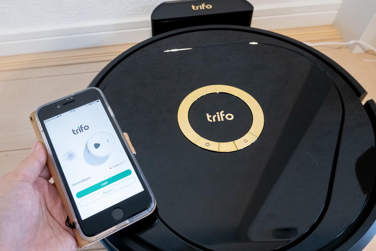 「Trifo Lucy」の使い方と初期設定 スマホアプリとの連携