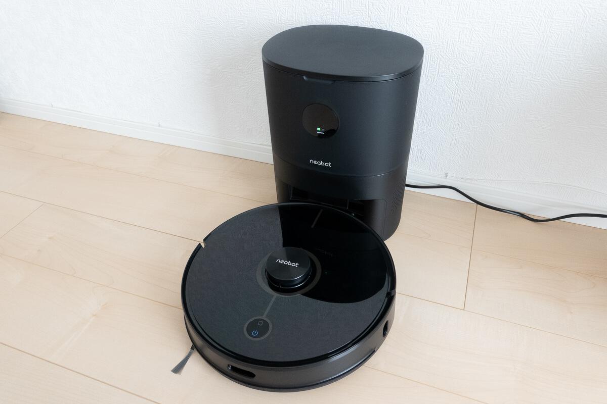 「Neabot NoMo N2」を実際に使用してレビュー。自動ゴミ捨て・水拭き・マッピングと機能充実の一台