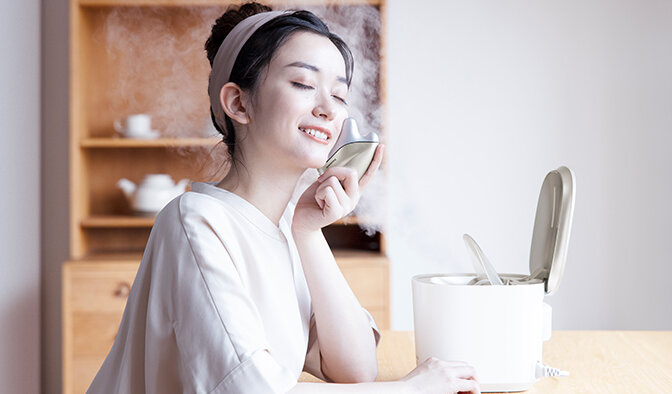 パナソニックのドレナージュ美顔器 温感かっさ おすすめの使い方