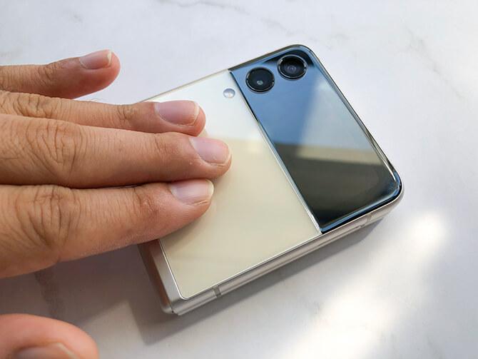 Galaxy Z Flip3 5Gの発熱
