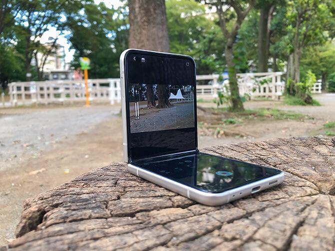 Galaxy Z Flip3 5Gのカメラ性能