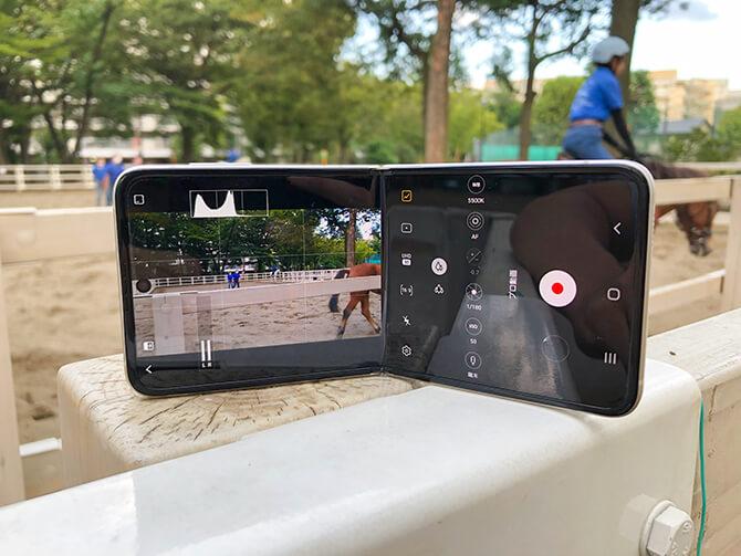 Galaxy Z Flip3 5Gの実機レビュー