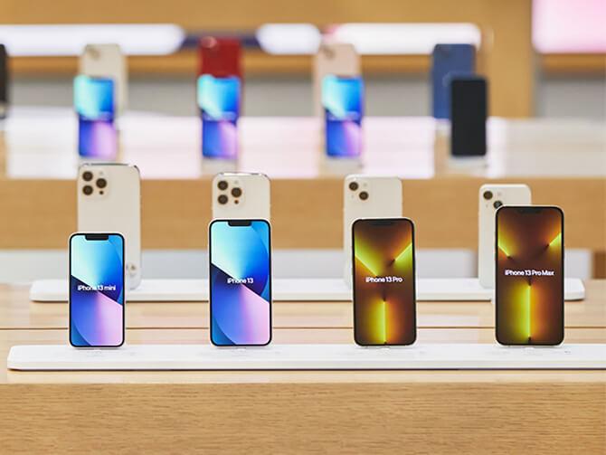 iPhone13シリーズを比較