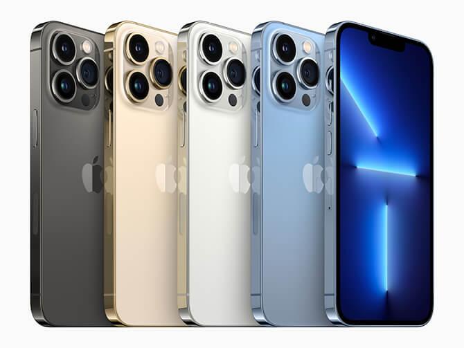iPhone13 ProとiPhone13 Pro Maxの特長