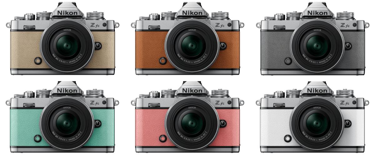 Nikon Z fc プレミアムエクステリア