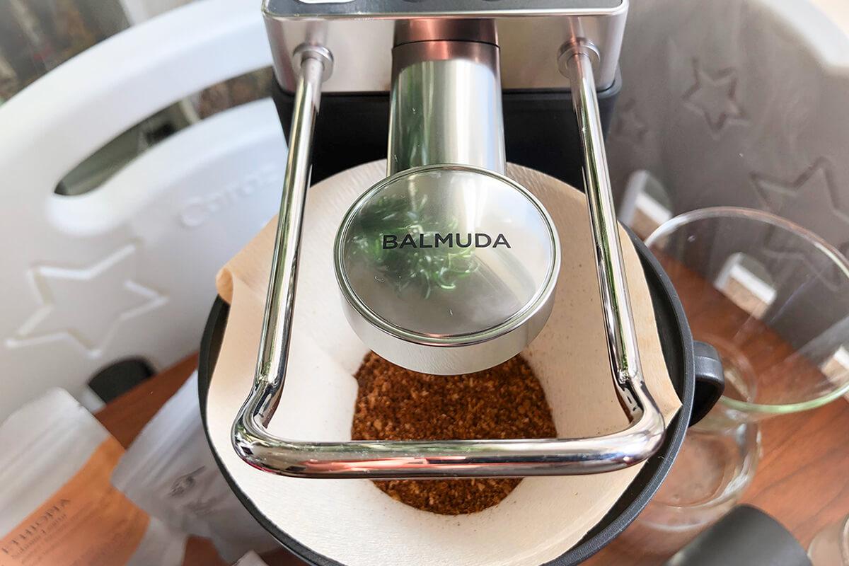 BALMUDA The Brewコーヒーメーカーを使用レビュー