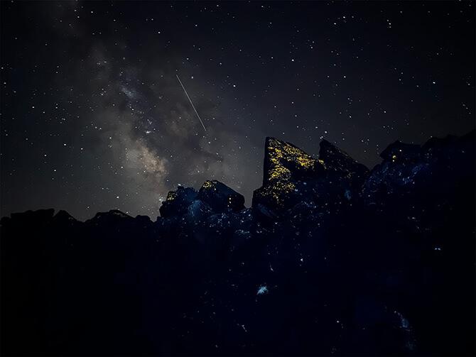 iPhone 13シリーズの星景写真