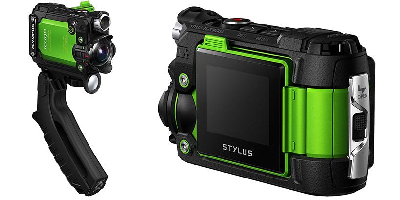 オリンパスのハンドル付きカメラ、STYLUS TG-Trackerをレビュー&解説!